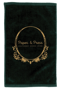 Velour Fingertip Sport Towel