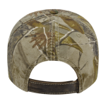 Faux Leathered Poly Cotton Camo Cap Bright Ideas Buy