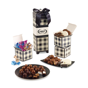 Mad For Plaid Chocolates Galore Keepsake Box