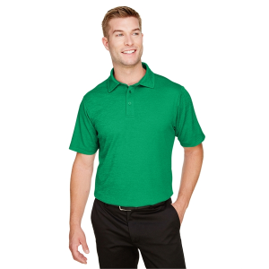 Devon & Jones CrownLux Performance™ Men's Address Melange Polo